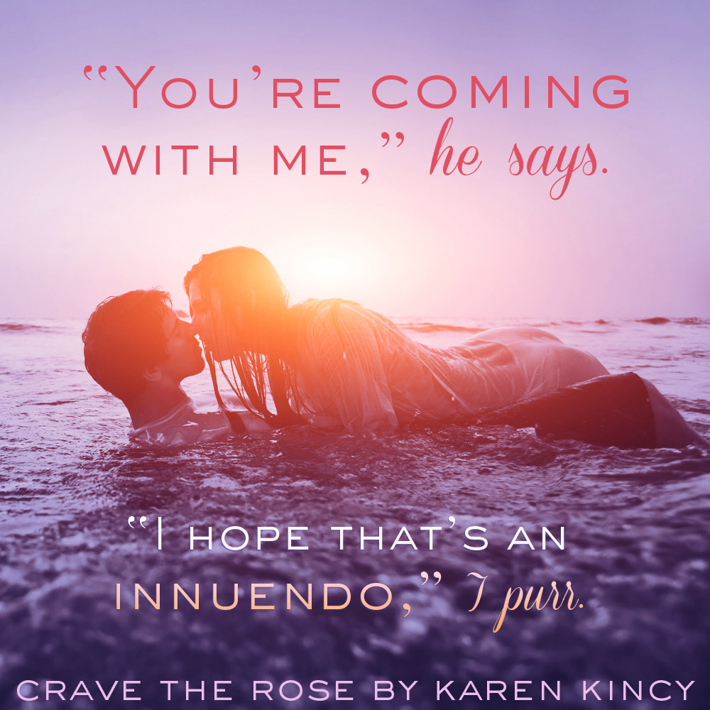 Crave the Rose - beach teaser - Facebook