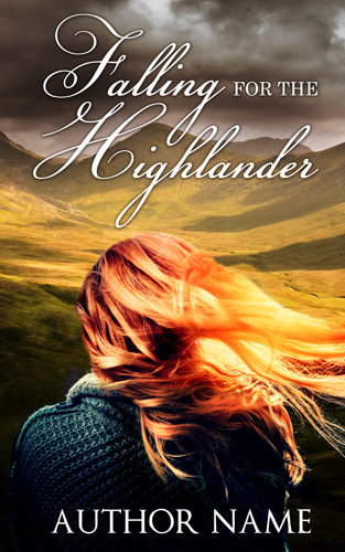 falling for the highlander - spellbinding design 500 pixels